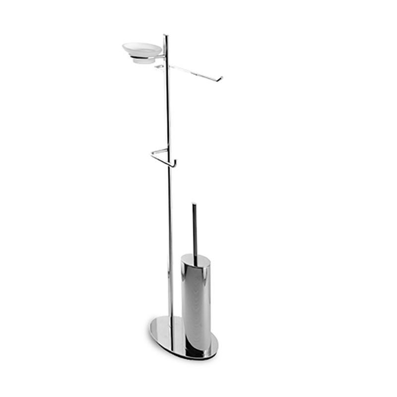 Accessori Per Bagno Piantane.Piantana Water Bidet Bagno Ottone Cromato Design Ovale