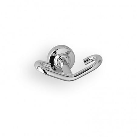 Appendi abito da bagno linea Dance in ottone cromato - accessori bagno