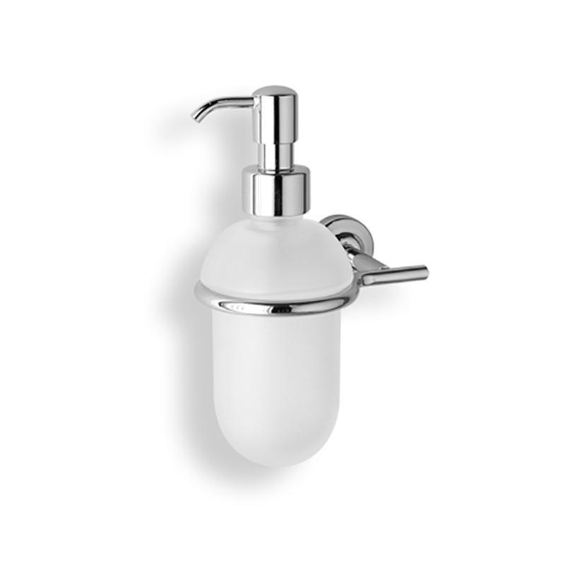 Dosatore di sapone liquido da bagno linea Dance in ottone cromato