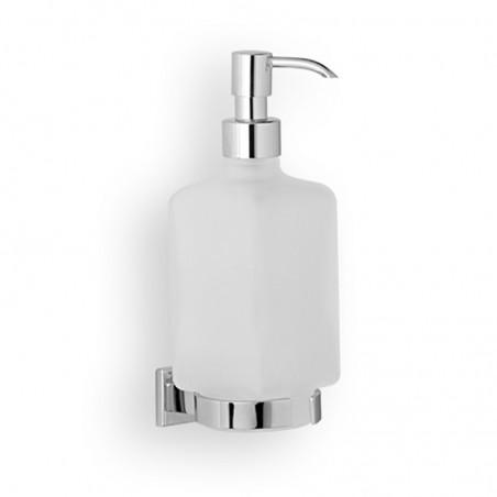 Dosatore di sapone liquido da bagno linea Cuba in ottone cromato - accessori bagno
