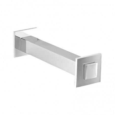 Porta carta igienica - porta rotolo da bagno  linea Picasso in ottone cromato - accessori bagno