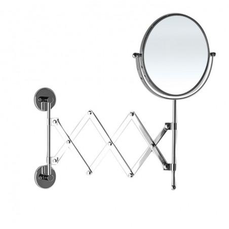 Specchio ingranditore da bagno estensibile con doppia faccia