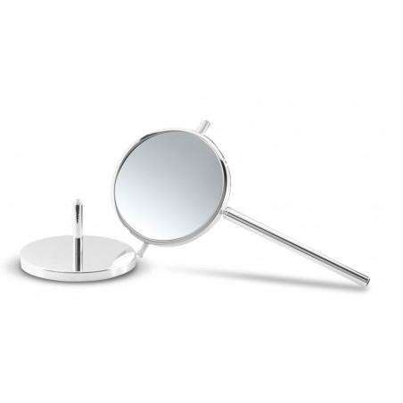 Specchio ingranditore da bagno da appoggio estraibile