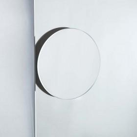 Specchio ingranditore da bagno a calamita ingrandimento 2X