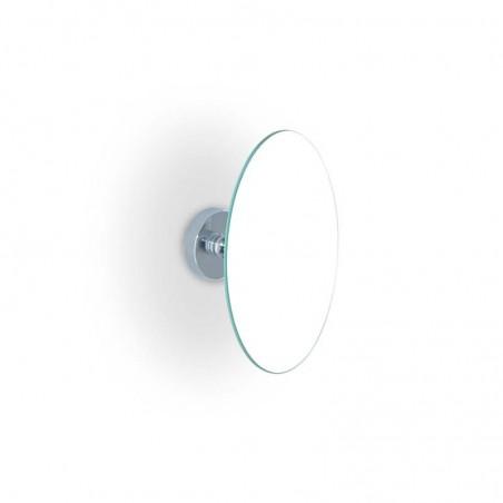 Specchio ingranditore da bagno a parete in ottone cromato ingrandimento 2X