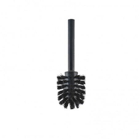 Ricambio setola scopino bagno nero - d. cm 6.5 x cm 19.5
