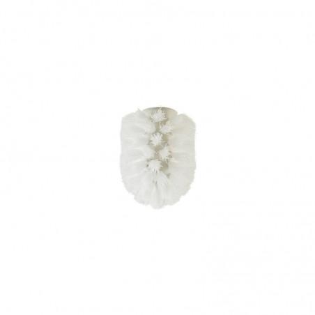 Ricambio scopino bagno - wc in setola - d. cm 6.5 x cm 8