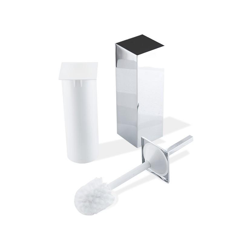 Particolare scopino bagno quadrato antibatterico