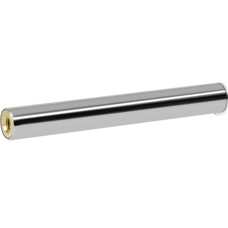 Scopino bagno - manico ricambio ottone cromato tubo d. 16 mm x cm 11