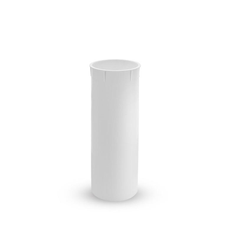 Ricambi accessori bagno - tazza plastica scopino bagno rotondo