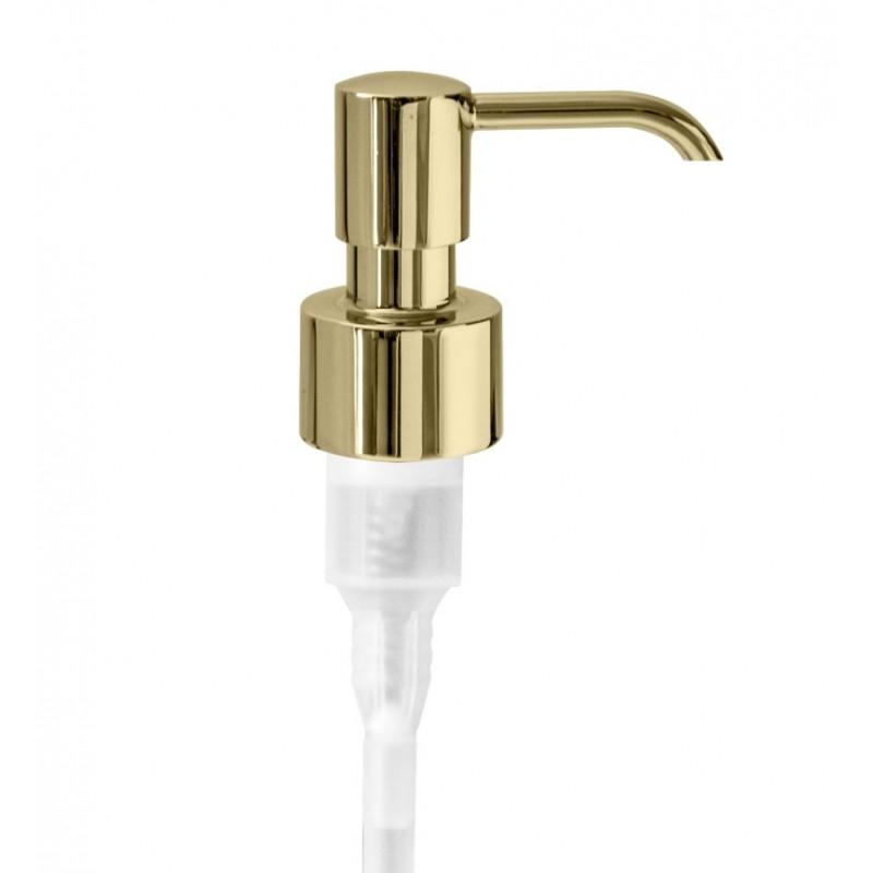 Dosatore sapone - ricambio completo oro - accessori bagno