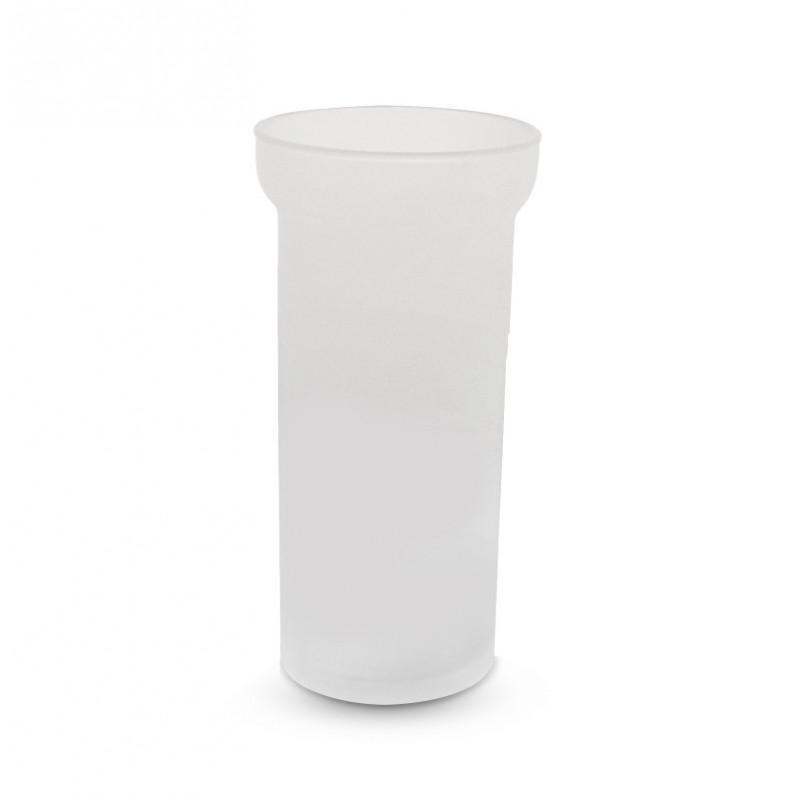 Scopino bagno tazza vetro satinato - ricambi scopino bagno
