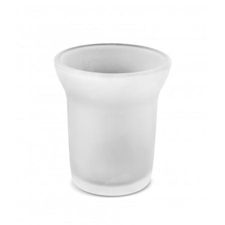 Ricambio vetro satinato bicchiere bagno- accessori bagno