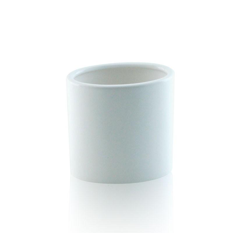 Bicchiere da appoggio ovale in ceramica
