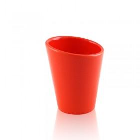 Bicchiere da appoggio in ceramica
