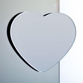 Specchio magnetico cuore ingranditore - specchi bagno