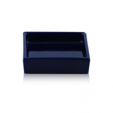 Porta sapone da appoggio quadrato in ceramica - accessori bagno
